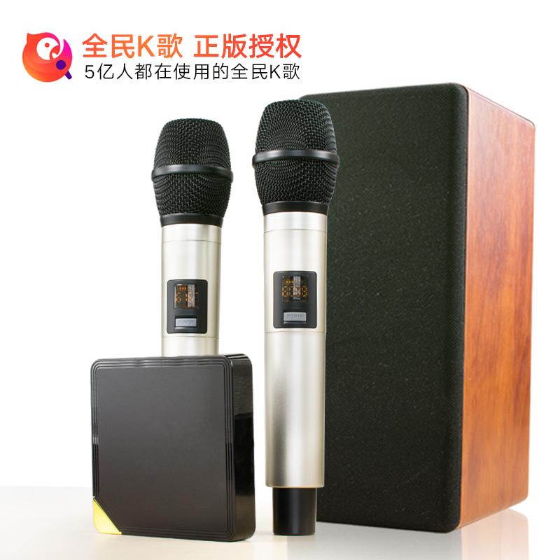 灵云 Q9 网络机顶盒 K歌宝KTV电视盒子点歌机高清播放器无线
