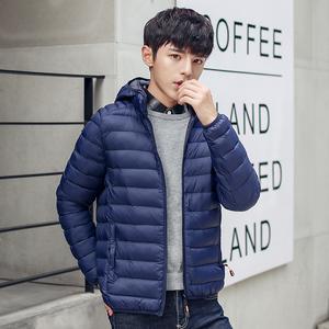 2019冬季新款男士轻薄羽绒棉服短款休闲学生韩版潮流棉袄棉衣外套