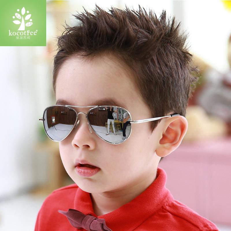 儿童太阳镜男童偏光小孩蛤蟆眼镜防紫外线舒适女童宝宝个性墨镜潮