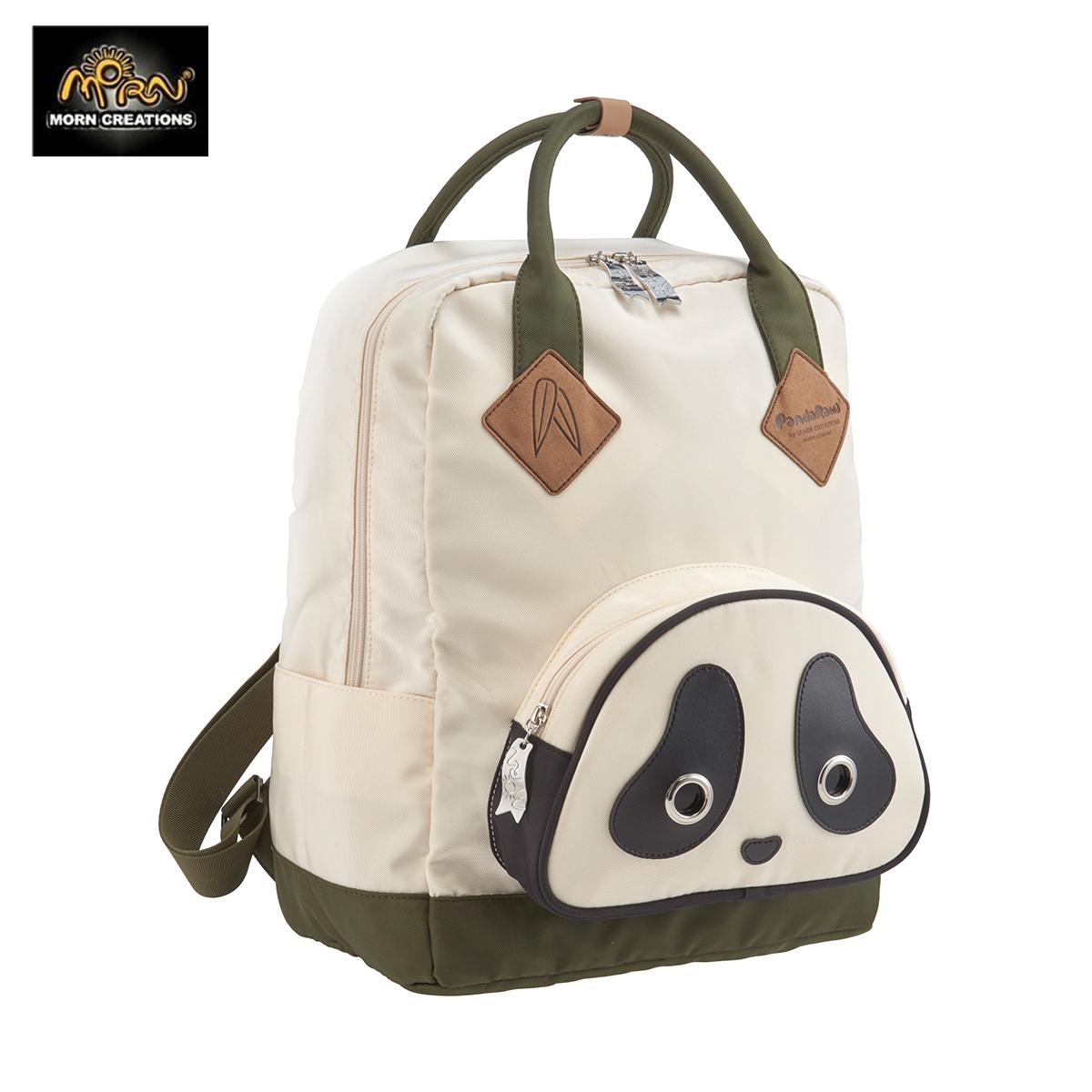 Morn Creations官网授权同款熊猫背包书包潮牌双肩包手提包
