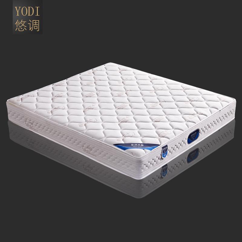 悠调床垫进口乳胶1.8米弹簧椰棕垫软硬适中席梦思经济型双人床垫