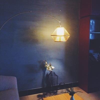 茶室中式装饰地灯 钓鱼灯东南亚餐厅日式落地灯 客厅北欧宜家创意