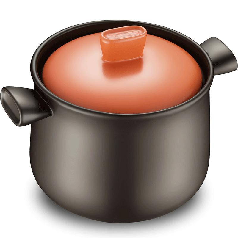 ~~苏泊尔砂锅炖锅家用陶瓷煲汤锅煲汤明火耐高温石锅专用养生锅