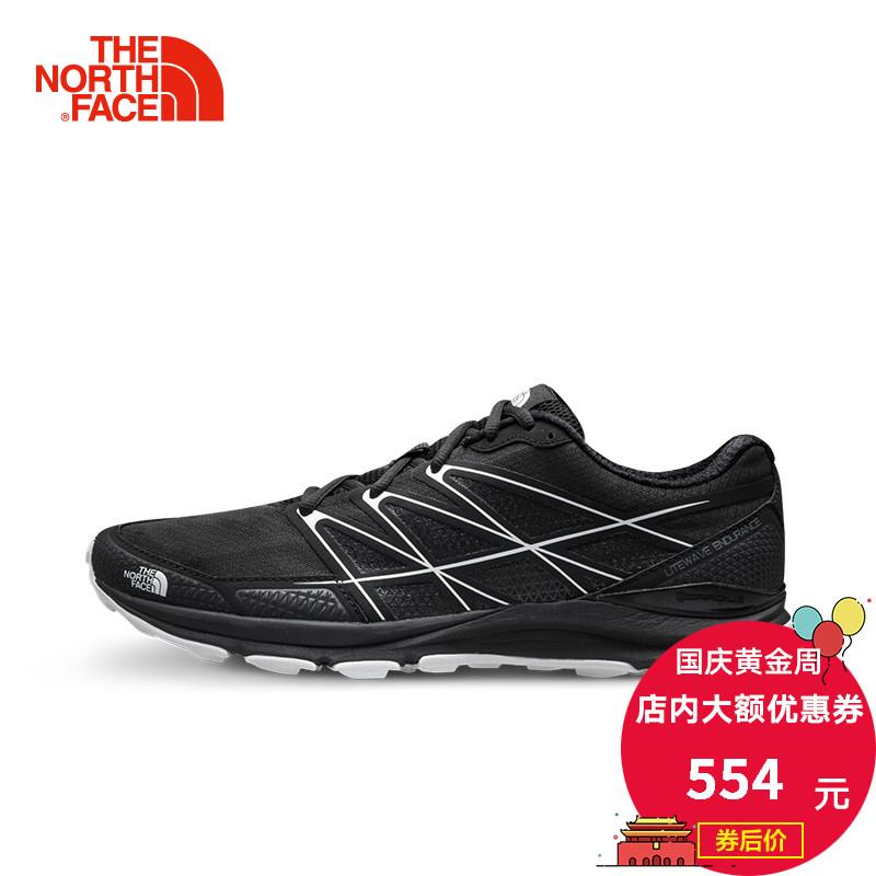 TheNorthFace北面18夏季透气抓地耐磨户外运动男越野跑鞋 2VVI