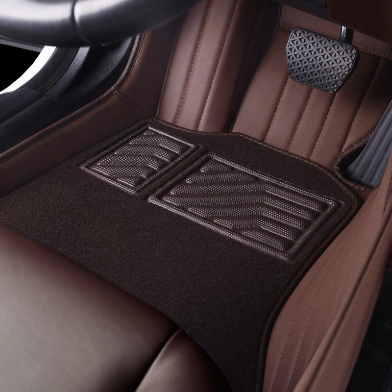 丰田凯美瑞汉兰达皇冠RAV4荣放普拉多27003500全包围真皮汽车脚垫