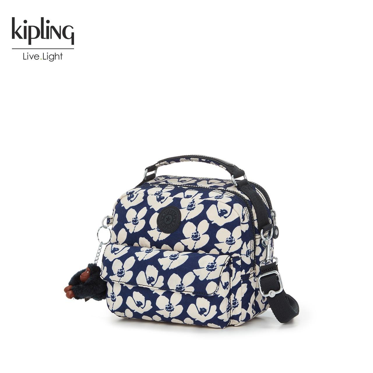 Kipling斜挎包女2018新款女包双肩背包K04472单肩手提包百变包包