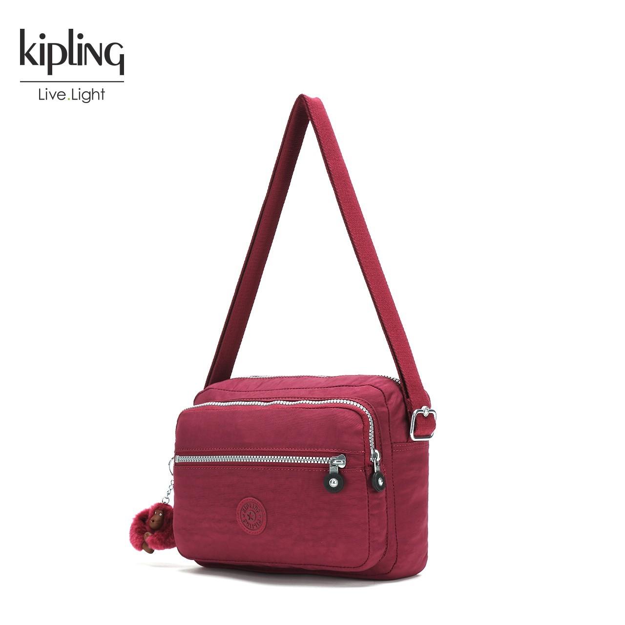 Kipling凯浦林时尚女包斜挎2018新款单肩包包ins超火包斜跨K15249