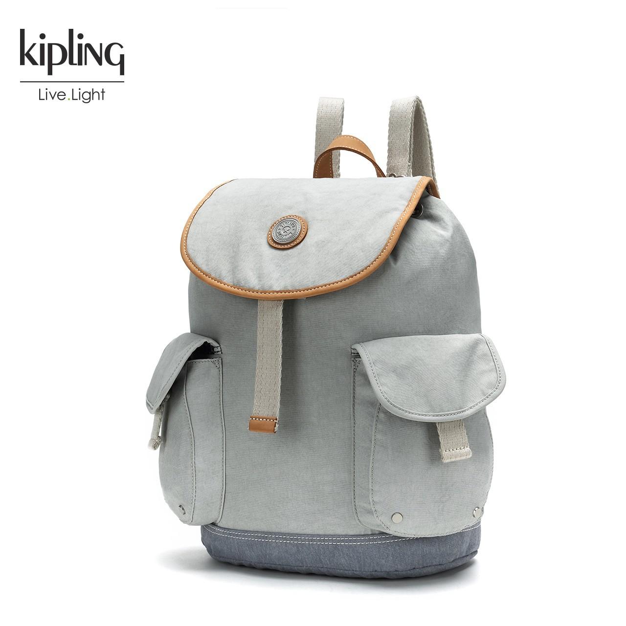 Kipling凯浦林官网2018新款K22068双肩背包休闲背包男女背包