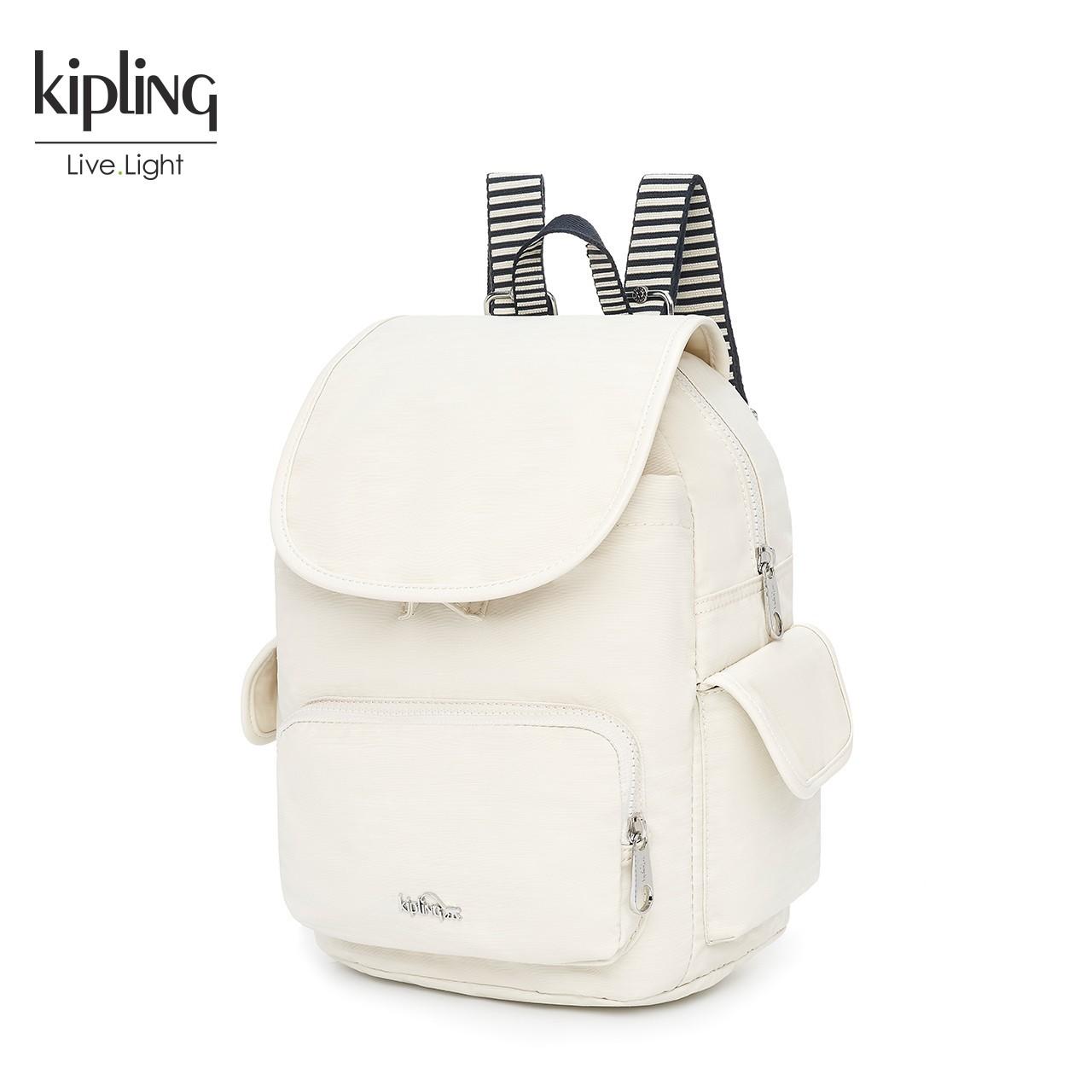 Kipling凯浦林官网双肩包女2018新款女包夏天休闲学院背包K15641