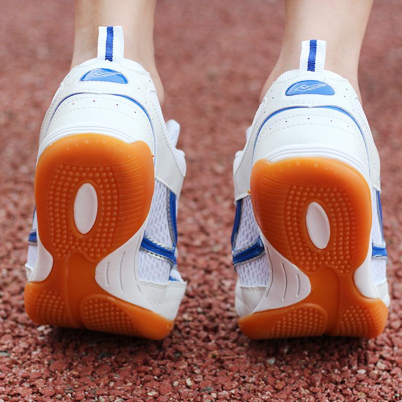 秋季乒乓球鞋男鞋女鞋透气专业训练鞋喜攀登成人儿童鞋运动鞋正品
