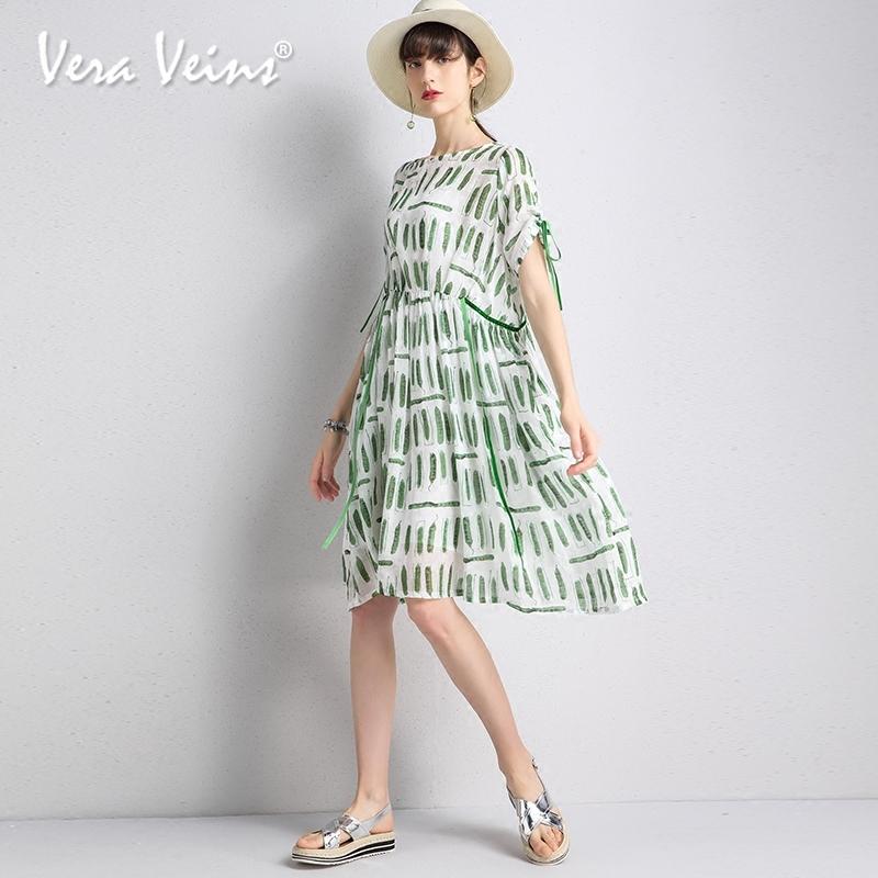 娃娃款度假仙美a字裙2018夏季新款宽松显瘦中长款两件套连衣裙