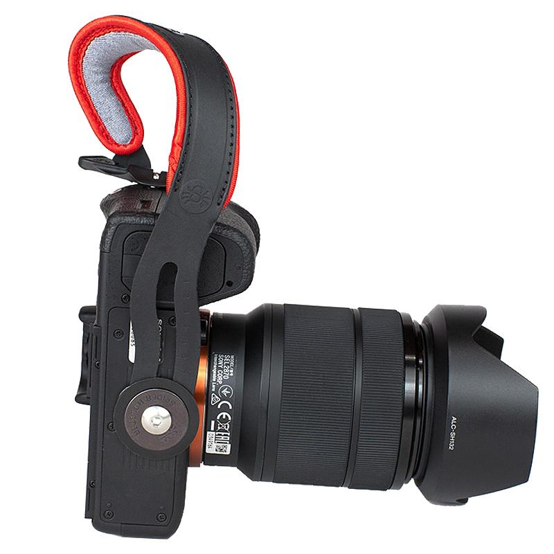 SpiderLight狼蛛微单手腕带索尼A7手绳富士手带单电相机腕带通用