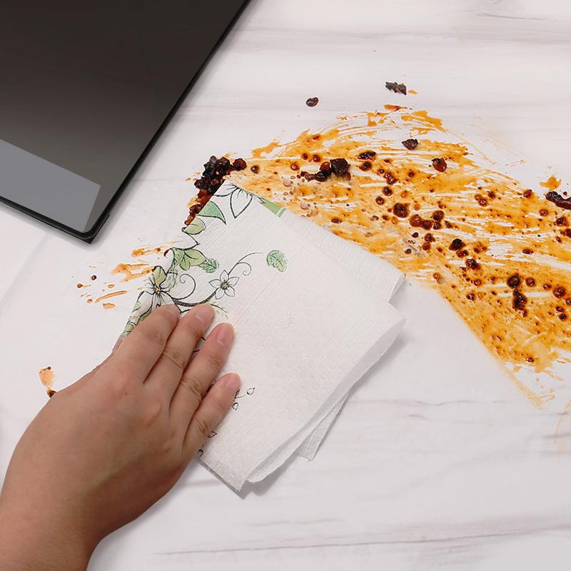 懒人抹布一次性厨房用品纸干湿两用家务清洁擦桌子抹布去油洗碗布
