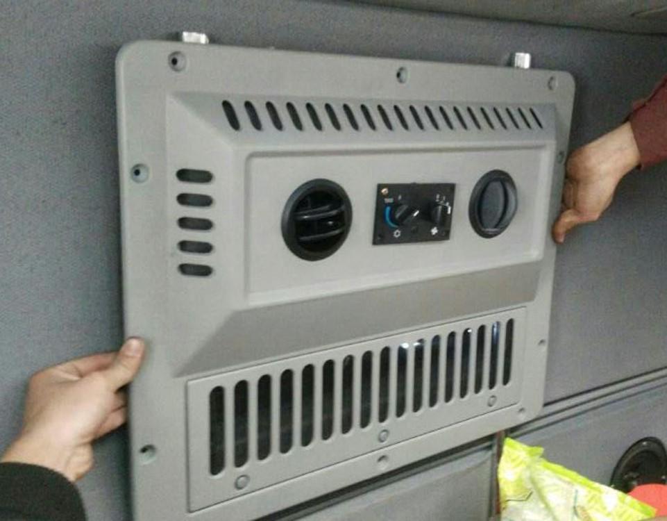 耀立24v车载冷暖顶置驻车空调一体机汽车停车大货车电动变频加装图片
