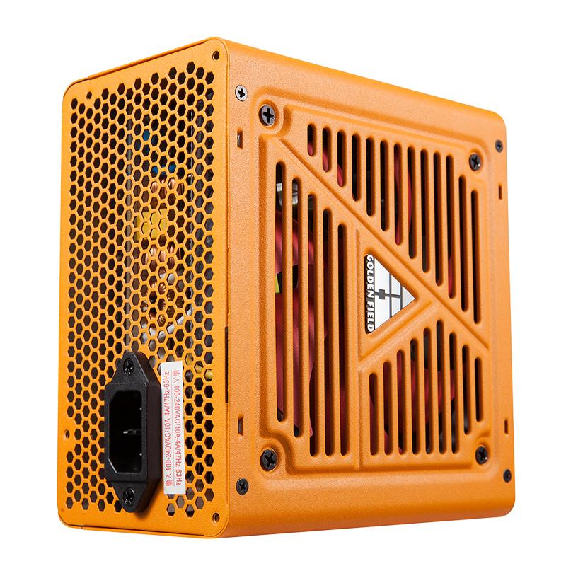 金河田战刀680电源台式机静音电脑电源主机电源额定500w峰值600w