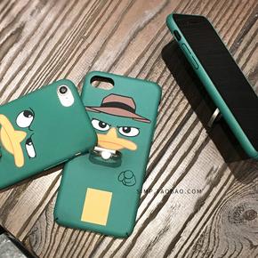 搞怪卡通iphone7/7plus手机壳苹果6