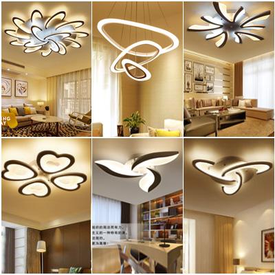 全屋LED吸顶灯具成套餐装组合简约现代三室两厅卧室餐厅客厅灯饰