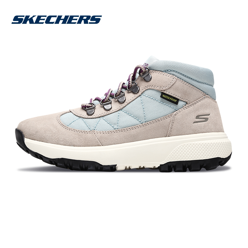 Skechers斯凯奇女鞋新款高帮绑带健步鞋 减震户外运动鞋 15557