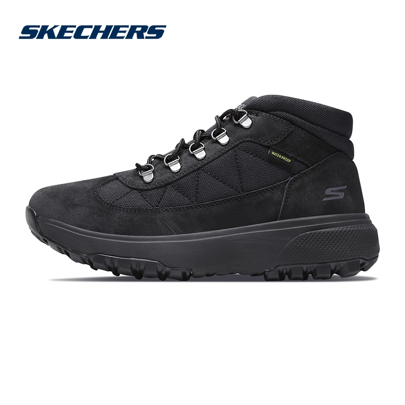 Skechers斯凯奇男鞋新款户外健步中帮绑带鞋 减震运动鞋 55487