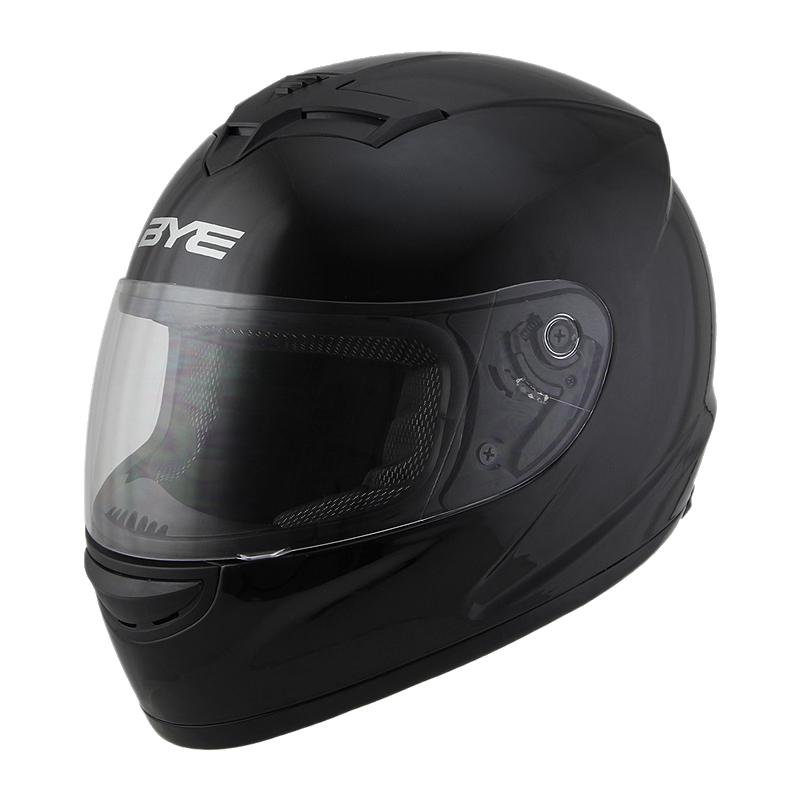 BYE全覆式头盔男踏板机车全盔个性酷电动车安全帽女冬季保暖防雾