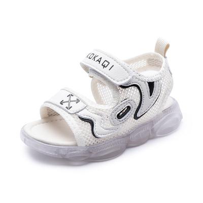 凉鞋宝宝1-2岁男童夏季婴儿鞋子防滑软底小童鞋3儿童女幼儿学步鞋