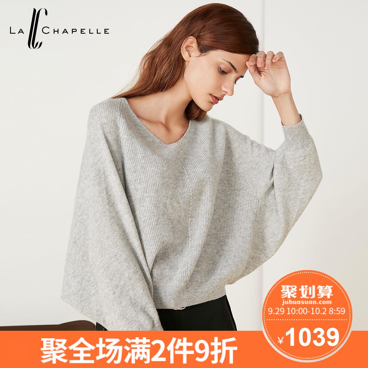 毛针织衫女2018秋季新款韩版宽松百搭毛衫打底羊绒衫长袖中长毛衣