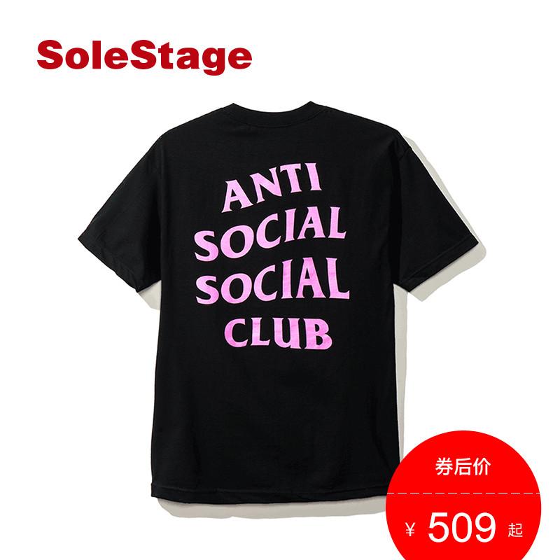 ASSC AntiSocialSocialClub 时尚潮流宽松休闲短袖T恤男女ASST217