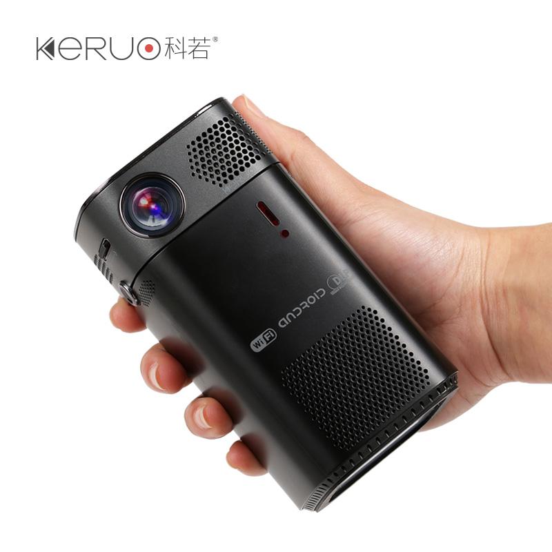 科若L7投影仪家用高清无线wifi微型智能小型1080p迷你便携投影机