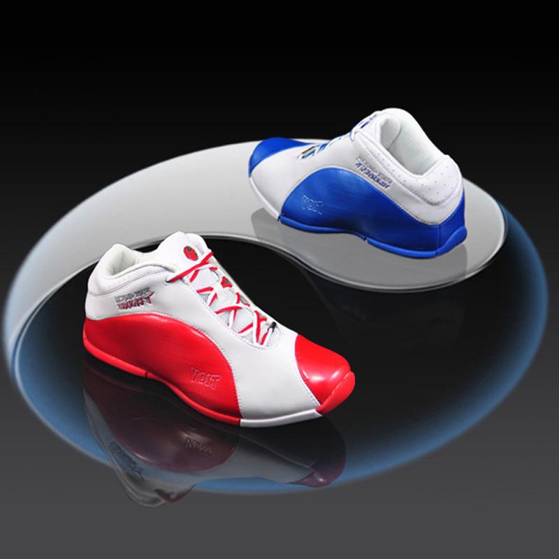 沃特篮球鞋太极鸳鸯专业运动鞋男鞋减震水泥地耐磨个性搭配