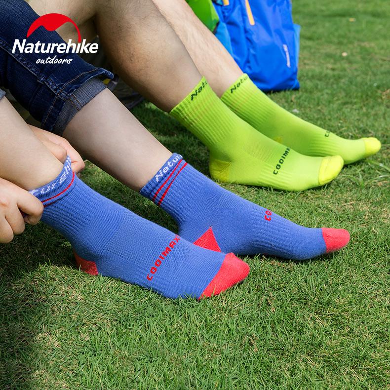 NH016款coolmax袜子男女户外速干袜短袜春夏秋成人徒步跑步运动袜