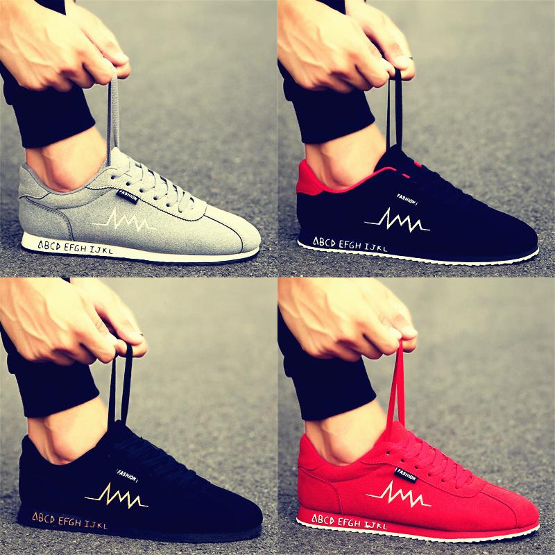 Мужская обувь тенденция мужской обувь корейский дикий спортивный досуг обувь зимний с дополнительным слоем пуха теплые хлопок обувной 2017 новый