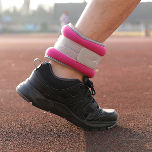 劳拉之星负重沙袋跑步绑腿运动训练绑手腿部装备学生隐形男女沙包