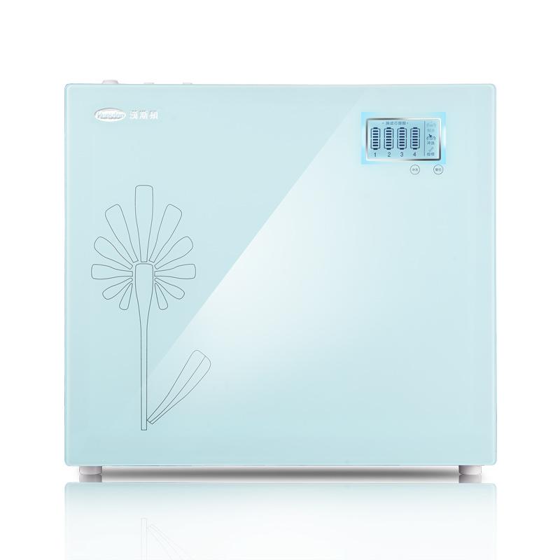 汉斯顿净水器家用直饮厨房自来水无桶400G净水机RO纯水机过滤器