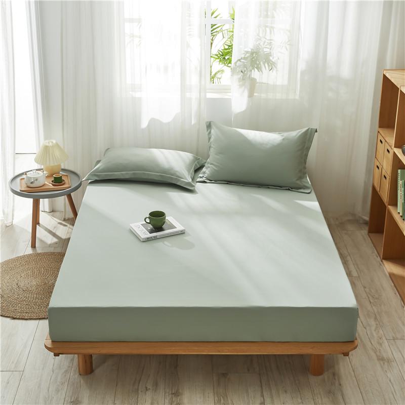 床笠单件床罩防滑固定水洗棉床笠1.35米1.8m席梦思床垫防尘保护套