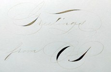 Ручка 30ml Calligraphy Ink Copperplate