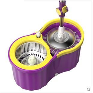 庞暄双驱动旋转拖把杆家用拖布桶免手洗懒人拖地自动甩水干湿两用