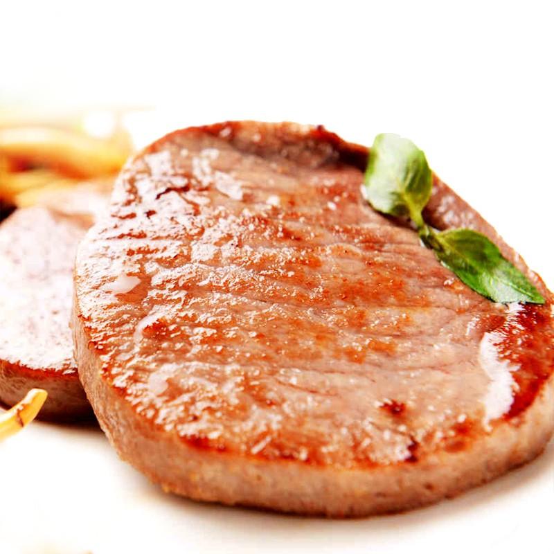 澳洲菲力牛排6片 新鲜黑椒儿童牛扒家用生鲜单独包装牛排肉肉眼20