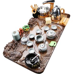 紫砂茶具套装简约整套全自动电茶壶