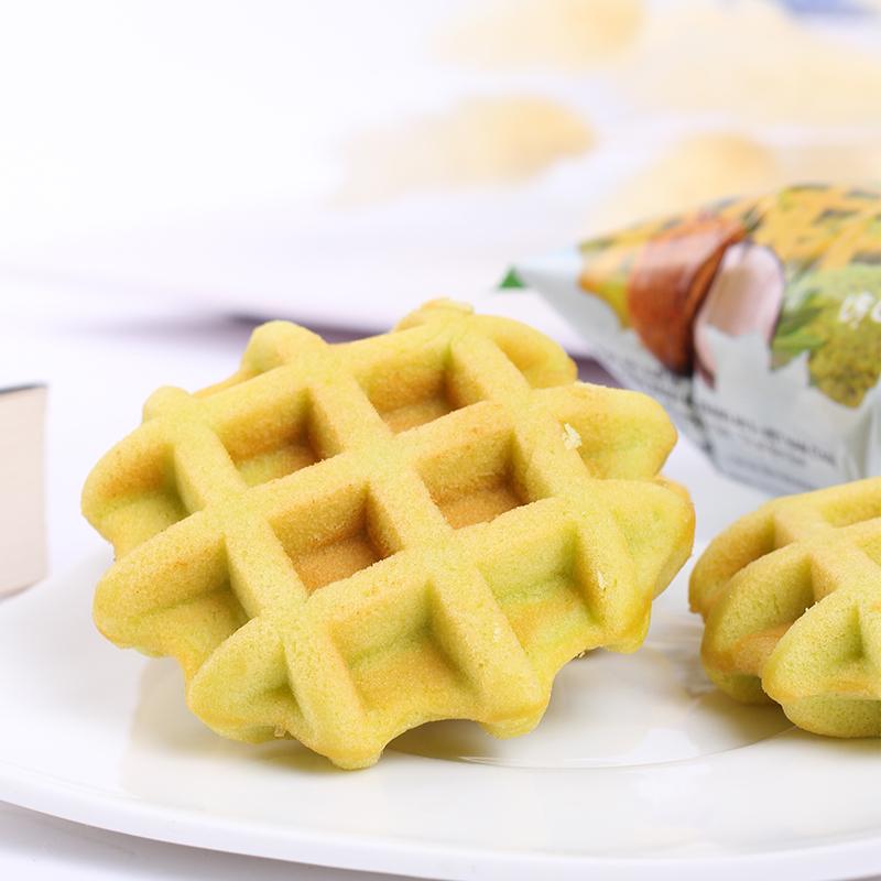 稞姑娘新鲜华夫饼24克*14袋早餐食品零食西式糕点面包整箱