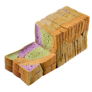 七年五季 手工现做无糖精三色全麦面包吐司整箱600g粗粮饱腹代餐