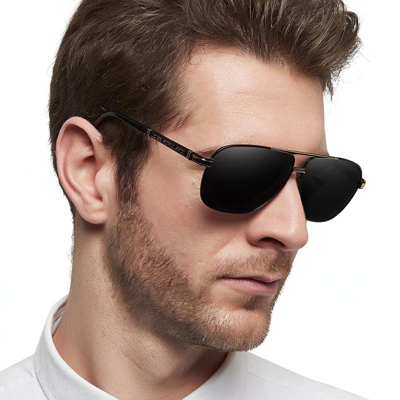 日夜两用太阳镜男司机镜偏光变色墨镜男士潮女夜视镜钓鱼开车眼镜