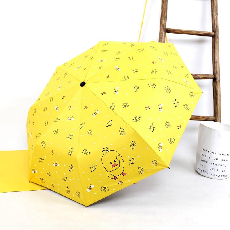 雨伞定制印logo折叠小巧便携防紫外线防晒遮阳女晴雨两用s太阳伞