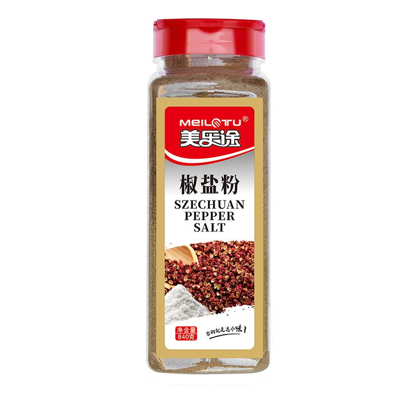 椒盐粉840g大瓶装烧烤调料鸡排铁板手抓饼羊肉串撒料