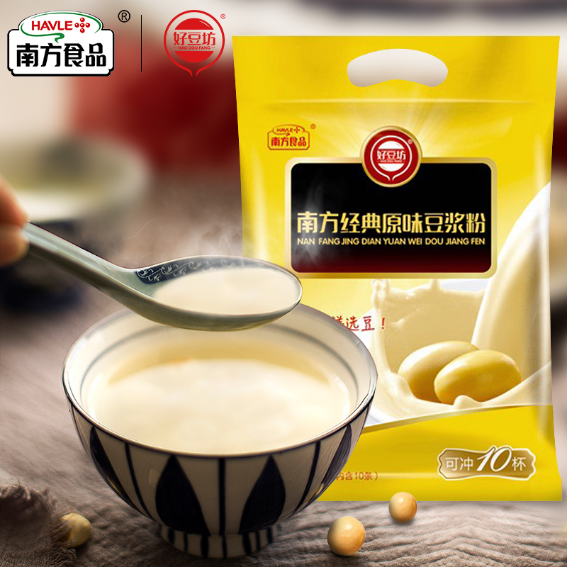 南方好豆坊 经典原味豆浆粉 300g(共10袋)