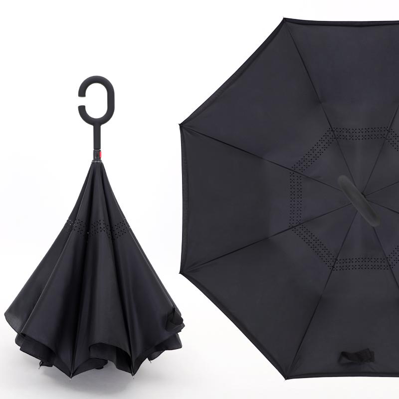 沫采 双层反向晴雨伞