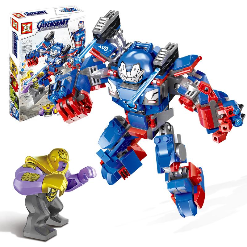 乐高反浩克机甲复仇者积木儿童益智玩具