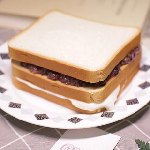 卖麦香紫米面包黑米加薪奶酪吐司蛋糕营养早餐糕点心零食三明治
