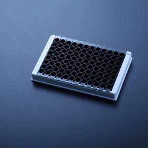 比克曼生物 贴壁处理 96孔酶标板【12*8孔单排可拆 黑色】【1个】