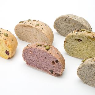 田园主义无糖精无油全麦面包欧包杂粮整箱食品饱腹粗粮早餐代餐