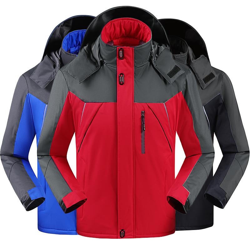 【加绒加厚】中长款冬季冲锋衣